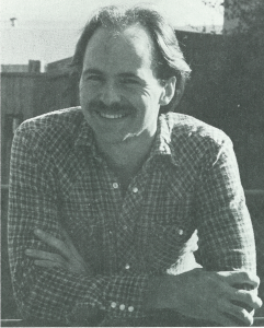 Jay Holcomb, picture circa 1982. JWR 5(3).